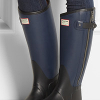 Hunter | + rag & bone leather-effect Wellington boots | NET-A-PORTER.COM