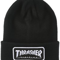 Thrasher Logo Patch Beanie | Urban Outfitters