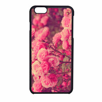 Cute Stylish Pink Roses Iphone 6S Case