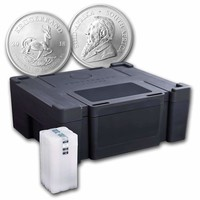 2018 500-Coin South Africa 1 oz Silver Krugerrand Monster Box