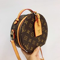 Louis Vuitton LV Round Crossbody Shoulder Bag
