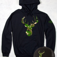 Women's Country Girl ® Camo Deer Head Hoodie & Hat Package