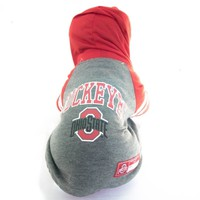 Ohio State Buckeyes Dog Hoodie Shirt NCAA Officially Licensed Pet Product