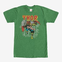 Marvel Thor Comic Book Cent T-Shirt