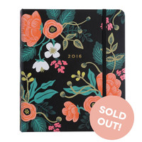 Rifle Paper Co. 2016 Planner - Birch Floral