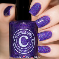 Colores de Carol Cursed Cat Nail Polish (Halloween 2014 Collection)