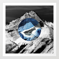 Lost mountain Art Print by Stoianhitrov