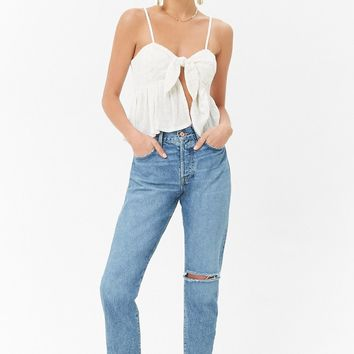 Knotted Ruffle Cami