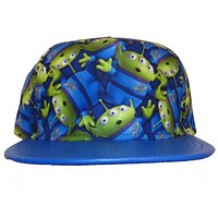 Toy Story - Aliens All Over Sublimated Snapback Cap