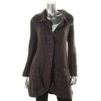Style & Co. Womens Juniors Knit Long Sleeves Cardigan Sweater