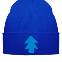 dipper pines EMBROIDERY - Beanie Cuffed Knit Cap