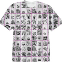 original kanto pokemon shirt created by Jundee | Print All Over Me