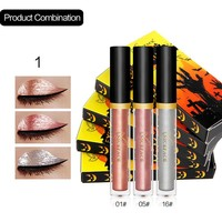 NICEFACE eyeshadow makeup eye shadow Halloween limited edition 3 support pearl light shiny eye shadow maquiagem make up