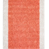 Anji Mountain Strawberry Fields Silky Shag Area Rug