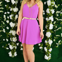 Easy Living Dress: Orchid