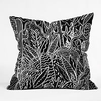 Kris Tate The Garden Outdoor Throw Pillow