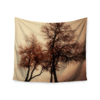 """Sylvia Coomes """"Rust Trees"""" Photography Nature Wall Tapestry"""