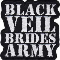 Black Veil Brides Iron-On Patch - Army