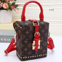 LV Three-dimensional Women Shopping Leather travel Satchel Tote Handbag bag