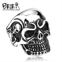 Beier Trendy Stainless Steel Party Wedding Bands For Men Br8-068