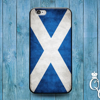 iPhone 4 4s 5 5s 5c 6 6s plus iPod Touch 4th 5th 6th Generation Blue White Country Flags Scotland Scottish Cute Europe Flag Case Phone Cover