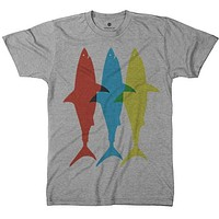 Three Sharks