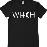 Witch-Female Black T-Shirt