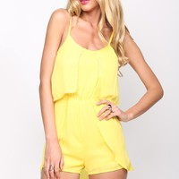 HelloMolly | Trophy Playsuit Lemon