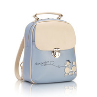 Cute Kawaii PU Leather Backpack