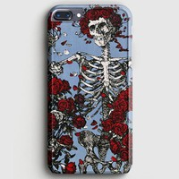 Grateful Dead Bones And Roses iPhone 7 Plus Case