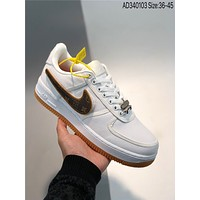 Travis Scott X Nike Air Force 1 Low cheap Men's and women's nike shoes