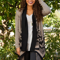 Timber Aztec Cardigan