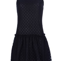 Love Moschino Netted Lace Dress