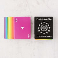 Fredericks & Mae Rainbow Playing Cards | Urban Outfitters