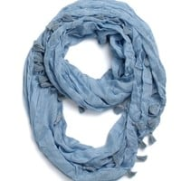With Love From CA Tassel Infinity Scarf - Womens Scarves -