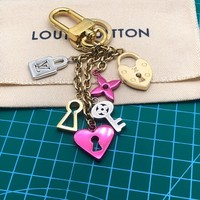 Louis Vuitton Lv Love Lock Heart And Keys Bag Charm And Key Holder M67438 - Best Online Sale