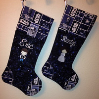Personalized Star Wars Christmas Stocking