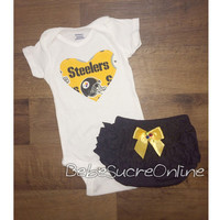 Pittsburgh Steelers Girls Outfit