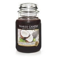 Coconut & Vanilla Bean : Large Jar Candle : Yankee Candle