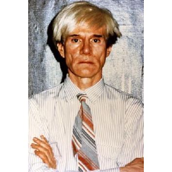 Andy Warhol poster Metal Sign Wall Art 8in x 12in