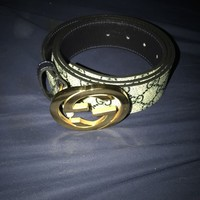mens gucci belt size 38
