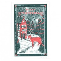 Christmas Holiday Tea Towels by Vestiges