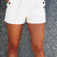 Basic Linen Shorties
