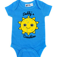 Daddy's Sunshine Turquoise One Piece