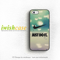 Cool Just Do It Nike Art iPhone 5 5S 5C Case Cover