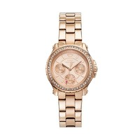 Juicy Couture Pedigree Rose Gold Tone Stainless Steel Women's Watch (Yellow)