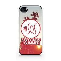 IPC-270 - Ivory Phone Case - 5SOS - 5 Seconds of Summer - iPhone 4 / 4S / 5 / 5C / 5S / Samsung Galaxy S3 / S4