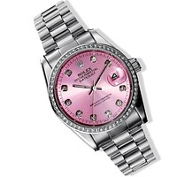 Rolex Women's Watch Fashion Quartz Printed Watch