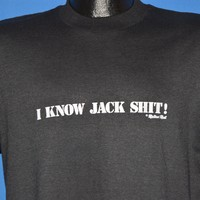 90s I Know Jack $#!t Mellow Mall t-shirt Large