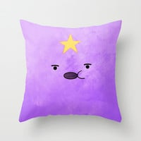 Adventure Time - Lumpy Space Princess Throw Pillow by Hannahclairehughes